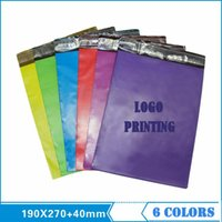 Wholesale Custom Link Customized LOGO Printing High Quality PE Bags Mailbag Envelope Courier Colors Available Selected