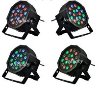 Wholesale Professional Stage Lighting W X W RGB LED Effect Light DMX512 Channel Par Lights Disco DJ Party Stage Light EU US Plug