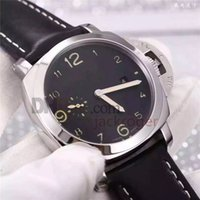 automatic movement free - Top quality Automatic Men s Watch P9000 movement Mechanical watches Leather strap men watches