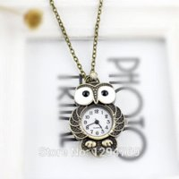 Wholesale 2014 Lovely Bird Shape Vine Jewelry Cute Pendent Pocket Watch Favorite for Women Pocket amp Fob Watches