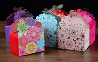 Cheap butterfly Floral favor bags Best gifts wedding