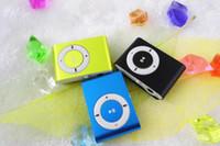 Reproductor de MP3 Mini Clip Reproductor de MP3 barato al por mayor del estilo del deporte sin la pantalla No regalo de las piezas de repuesto