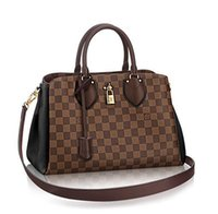 Wholesale 2016 Fashion famous brand bag Lady s handbag Casual louis NORMANDY women s small shoulder bag messenger bag high quelity N41487