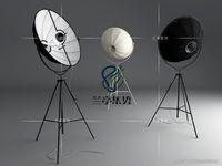 Wholesale Modern Fortuny Ornaments Floor Lamp Adjustable Satellite Shape Photo studio Light Living Room Light