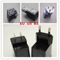 Wholesale 5V A A USB Wall Charger AC Power charger Adapter US BS EU For Samsung P1000 P6200 P3100 P7500 P5100 N8000 N8010 black