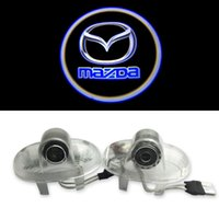 Wholesale Car Door Shadow Laser Projector Logo LED Welcome Door Light Laser Door Shadow Light Welcome Projector For Mazda8 Mazda RX