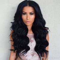 Wholesale Raw Natural Full Lace Wig A Malaysian Body Wave Full Lace Human Hair Wigs For Black Women Human Hair Wigs Natural Hairline