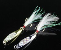 Wholesale Price Metal Fishing Lures Baits with Silver Gold for Sea Fishing Tackles