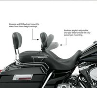 Wholesale Motorcycle Adjustable Driver Rider Backrest For Harley Street Electra Road Glide King Touring FLHR T X Back Rest UP