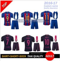 barcelona arsenal - DHL Mixed buy Arsenal Barcelona jersey knit socks MESSI ARDA A INIESTA Suarez SERGIO PIQUE Y RAKITIC4 Neymar JR16 home and aw