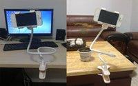 Wholesale car mount mobile phone holder Mount for Cellphone car holder accessories clip car mount windshield Desktop bed