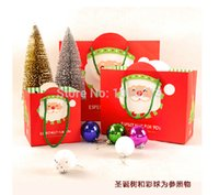 Wholesale PC CM x CM x CM Fashion Santa Claus Christmas Gift Bags Christmas Paper Gift Bag Supplies