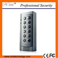 Wholesale High quality without software user password Wiegand inpit multi function rfid khz card reader door access control system