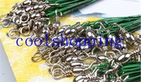 Wholesale high quality Anti bite Lead Rope Fishing Tackle Lures Line Green Fishing Lures set
