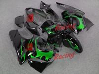 Wholesale Green Fairings Bodywork kit Kawasaki Ninja ZX12R