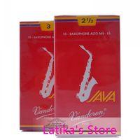 Wholesale France Vandoren red box Java Eb Alto saxophone reeds Box of