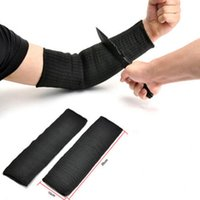 Wholesale Pair Steel Wire Cut Proof Anti Abrasion Stab Resistant Armband Sleeve Guard Bracers