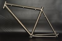 best track bike frame - Supply best seller brush polished gr9 Ti3al2 v titanium mountain mtb bike frame sample in stock