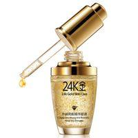 acid gold - BIOAOUA k Pure Gold face Essence Serum Hyaluronic Acid Liquid Cream Whitening Moisturizing Anti Aging Skin Treatment Face care