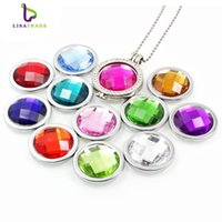 Wholesale New My moneda coin mm quot Birthstone colors quot Fit for Moneda pendant Coin frame Mentun locket coins MICO208