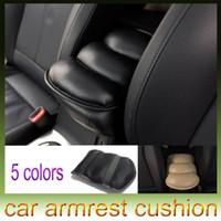 Wholesale Car Auto Armrests Cover Vehicle Center Console Arm Rest Seat Box Pad Protective Case Soft PU Mats Cushion Universal