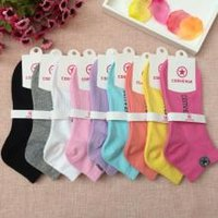 Wholesale Cotton hosiery for female sports socks Detroit stripe hosiery