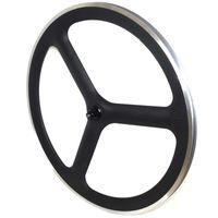Wholesale Highend C tri spoke carbon road wheels mm depth spoke carbon wheels alloy brake track clincher