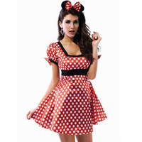 adult mouse costume - Sexy Minnie Mouse Adult Party Halloween Xmas Womens Fancy Dress Costume Size M XX L