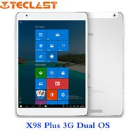 Cheap Teclast X98 Plus 3G Dual OS Intel Atom z8300 Tablet PC 9.7 inch Retina Screen 4GB 64GB Windows 10 & Android 5.1
