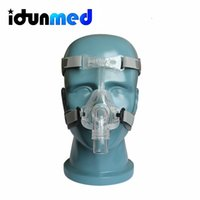 Wholesale Size S M L CPAP Auto APAP BiPAP Nasal Respirator Mask With Thin Headgear Strap For Sleep Apnea Treatment
