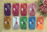 apple themes - For Samsung galaxy note For iphone PRO Princess Theme Quicksand Liquid Dynamic Case Cartoon Figure Back Cover