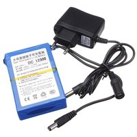 Wholesale 12V mAh Lithium ion Super Rechargeable Battery Charger Pack AC Charger EU High Volume Lithium Battery for camera