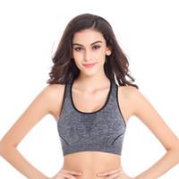 Wholesale Sleep vest Professional shock breathe freely without rims bra Running vest Yoga sports bra