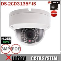 Wholesale Multi Language V5 DS CD3135F IS MP Support H HEVC Support TF Card Slot Two Way Audio Mini Dome POE IP CCTV Camera