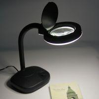 adjustable magnifying lamp - Adjustable X X Tabletop Gooseneck Magnifying Glass Lamp Desk Light Jewelry