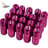Wholesale 20pcs Set Aluminum Wheel Racing Lug Nuts P1 L MM Extended Open End