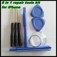 Wholesale 8 in Repair tool Special Repair Kit Set screwdriver For Apple iPhone S s DHL free
