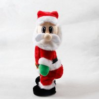 Wholesale Kids Christmas Santa Claus Dancing Music Electrical Toy Best Christmas Gifts Toys For Children cm With Retail Box PPA607