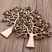 autumn wedding bouquets - 1pc Wooden MDF Autumn Tree Shape Craft Blank Family Decoupage Crafting