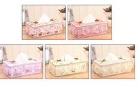 bamboo applications - Hot Korean square cloth towel box lace car with paper towel box application bathroom car living room