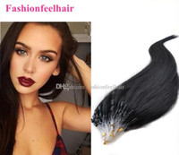 Wholesale Hot Selling b Micro Loop Hair Extensions Available A Brazilian Human Hair