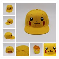 pocket pc - Poke Mon Go Caps Adjustable Pocket Monster Embroidery Hats Casual Poke Mon Pikachu Baseball Caps Elves Hats
