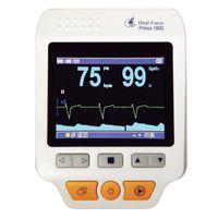 Wholesale EMS HEAL FORCE PRINCE D Handheld Easy ECG EKG Portable Heart detector Monitor Home Use USB Electrocardiogram Electro CE PR