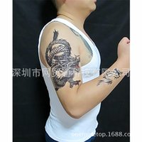 Wholesale A large explosion on behalf of eBay waterproof Disposable Tattoo Tattoo domineering dragon H25