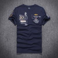 australia t shirt - Summer New Aeronautica Militare casual men t shirt Air Force One short sleeve men shirts Australia brand cotton t shirt
