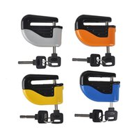 alarm chain lock - Mini Bicycle Alarm Lock Disc Brakes Bicycle Lock Bike Mountain Fixed Anti Theft Security Safety Bicycle Parts