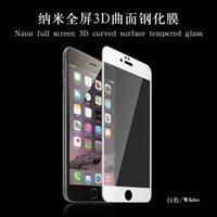 Wholesale Tempered Glass Screen Protectors Colorful iphone S plus D H mm Tempered Glass Screen Protector Film Explosionproof Film Retail box