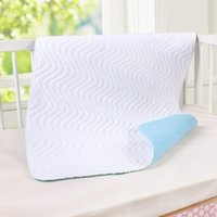 Wholesale Top Selling Waterproof Sheet Thick Cotton Reusable Baby Infant Changing Mat Washable Diaper Pad Home Kids Urine Mat Size M L VT0207