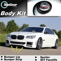 Wholesale Bumper Lip Lips For BMW E32 E38 E65 E66 E67 E68 Front Skirt Deflector Spoiler For Car Tuning The Stig Recommend Body Kit Strip