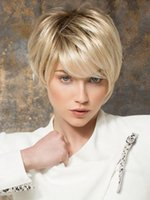 Wholesale 2016 Hot Sell Perruque Synthetic Women Perruque Manga Synthetic Wigs High Quality Ombre Wig For Women Short Perruque Cosplay Wig W8002 Peruk